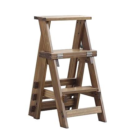 Tremendous Amazon Com Multi Functional Ladder Chair Stool 4 Tread Machost Co Dining Chair Design Ideas Machostcouk