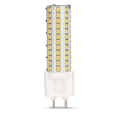 AscenLite LED G12 Bombilla 10W luz de maíz AC85-265V 360 grados 1000 lúmenes Blanco