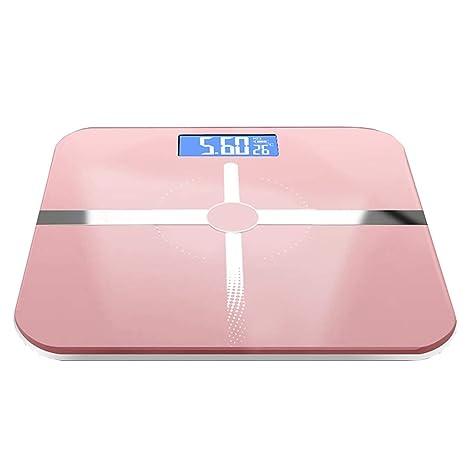 Básculas Digitales Báscula de baño de Alta precisión Escala de pesaje electrónica Digital Plataforma de Vidrio