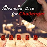 Dice Stacking Cup Set with 4 Pcs 19mm and 5 Pcs