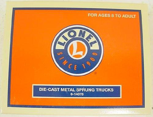 O DC Sprung Freight Trucks//2pk