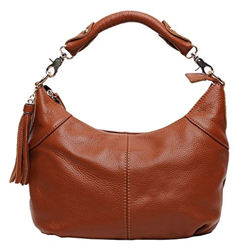 Freeze Classico alta qualità vera pelle Cross Body Bag Borsa a tracolla colore marrone