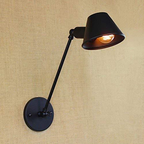 YWJWJ Lampada da Parete a LED in Ferro battuto in Stile Minimalista Retro Minimalista