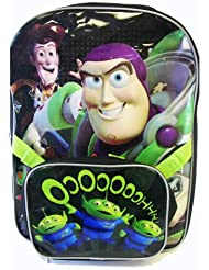 Disney Toy Story Backpack W/ Lunch Bag (2 pcs Set) - Full Size Woody Buzz Backpack