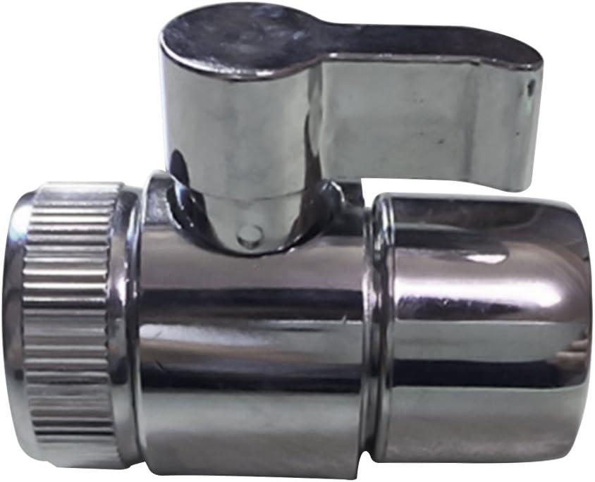 v/álvula de brazo de ducha IPS de 1//2 pulgada aleaci/ón de zinc V/álvula desviadora de agua pieza de repuesto para grifo de fregadero desviador para cocina//ba/ño v/álvula de control de inodoro