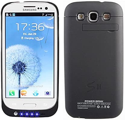 Spare battery with case for Galaxy S3