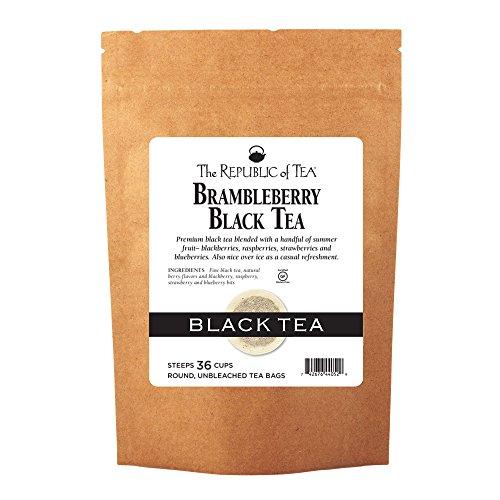 - The Republic Of Tea, Brambleberry Black Tea, 36 Tea Bags
