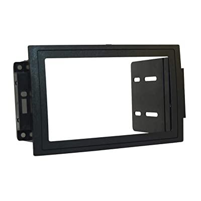 SCOSCHE CR1289B Single or Double DIN Car Stereo in-Dash Install Kit Compatible with 2005-Up Chrysler 300C, Dodge Magnum/Charger, Durango, RAM/Mega RAM, Jeep Grand Cherokee and Commander Vehicles: Car Electronics