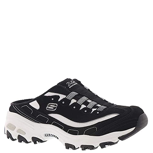 Skechers Damen Sabot D´Lites Bright Sky Weiß: Schuhe