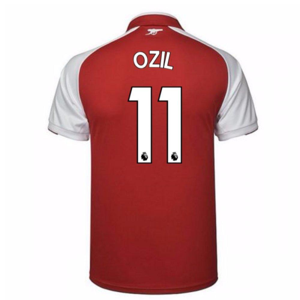 dfd55824411e0 UKSoccershop 2017-18 Arsenal Home Shirt - Kids (Ozil 11)