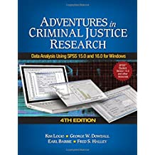 Amazon earl r babbie methodology social sciences books adventures in criminal justice research data analysis using spss 150 and 160 for windows fandeluxe Choice Image