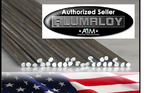 ALUMALOY 1 lb Pound: Aluminum REPAIR Rods No Welding Fix Cracks Drill Tap Polish or Paint by Alumaloy