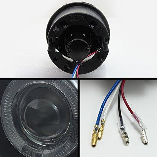 For Chrysler 300C Relay Wiring Caliber SRT-4 LED Halo Ring Fog Light Assembly W//Switch Dodge Charger SRT-8