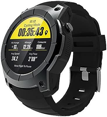 Makibes G05 GPS Reloj Deportivo MTK2503 1.3 Pantalla, Reloj Inteligente Multi-Deporte smartwatch Monitor de Ritmo cardíaco Bluetooth 4.0