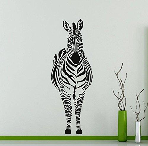 Cheap  Zebra Wall Decal African Animal Vinyl Sticker Home Art Interior Decoration Any..