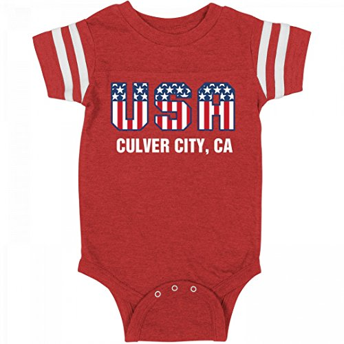 July 4th USA Baby Culver City, CA: Infant Rabbit Skins Football - Of Culver Ca City City