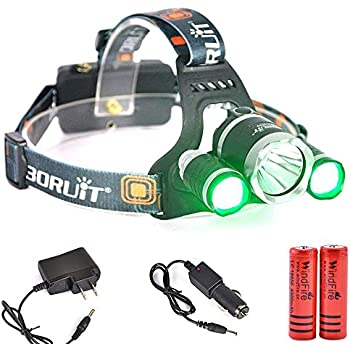 Amazon Com Windfire Hunting Green Light Tactical 5000lm