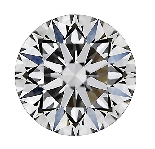 GIA Certified Round Cut Natural Loose Diamond 0.96 Carat H Color SI2 Clarity - 1 Ct