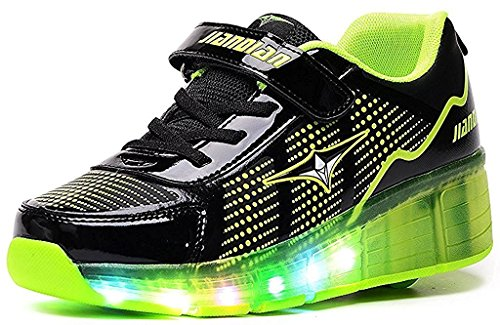2016 New Women Sneakers Breathable Mesh Light Running Shoes (Green) - 2