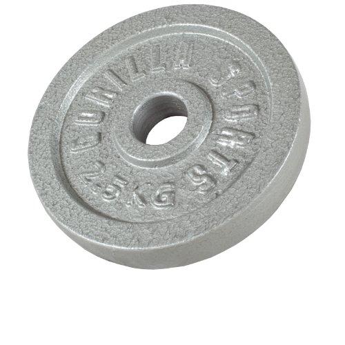 Gorilla Sports Hantelscheiben Gusseisen, 2.5 kg, 10000538;426