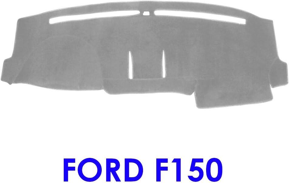 Gray MR-069 JIAKANUO Auto Car Dashboard Carpet Dash Board Cover Mat Fit Ford F150 2015-2019