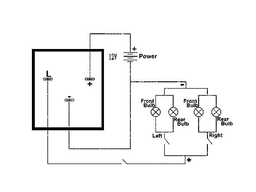 Amazon ijdmtoy 1 3 pin ep28 electronic led flasher relay for amazon ijdmtoy 1 3 pin ep28 electronic led flasher relay for led related turn signal bulbs hyper flash fix automotive fandeluxe Gallery
