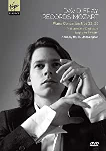 David Fray Records Mozart: Piano Concertos Nos. 22, 25