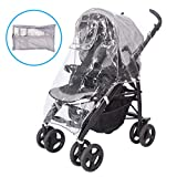 Universal Rain Cover for Buggy, Strollers, Prams and Pushchairs | Storage Bag Included | EVA Material, Odorless with No Phthalates and No PVC | for Traveling with Baby in The Rain, Wind and Snow