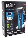 Braun Shaver Waterflex Wet+Dry Blue