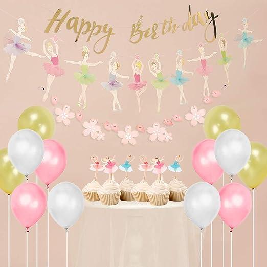 Easy Joy - Decoración de cumpleaños, diseño de Bailarina ...