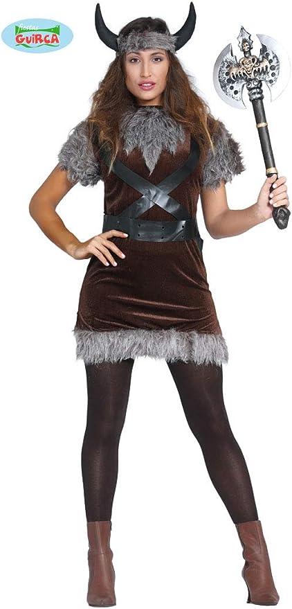 Disfraz de vikinga: Amazon.es: Juguetes y juegos