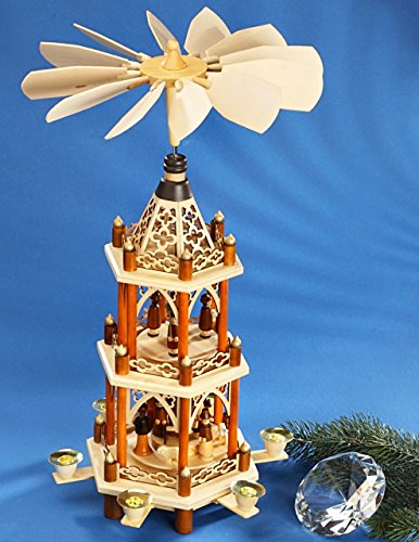 Christmas Pyramid with Laser Cut Details by PFAFF (Image #1)