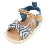 Summer Baby Sandals , Kstare Toddler Baby Boys Girls Anti-slip Soft Sole Sandal Casual Beach Flat Shoes (6~12 M, Gray)