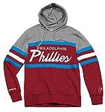 Philadelphia Phillies Mitchell & Ness MLB Head Coach Pullover Hooded Sweatshirt