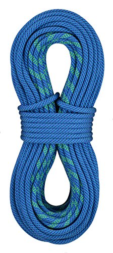 - Sterling Rope Evolution Aero Bicolor Dry Climbing Rope, Blue, 70m