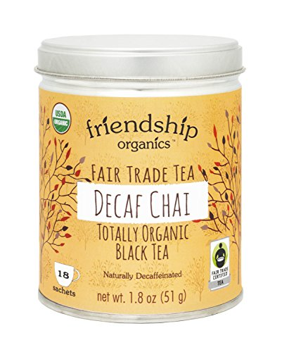 Organic Decaf Chai Black Tea, 18 tagless sachets