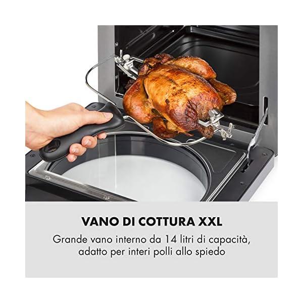 KLARSTEIN AeroVital Easy Touch - Friggitrice ad Aria Calda, Forno ad Aria Calda, Mini Forno, 1700W, XXL: 14L, 16… 4