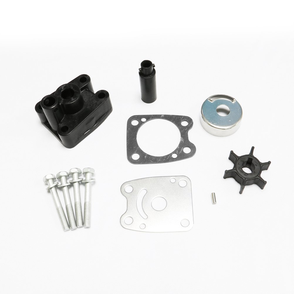 Full Power Plus Yamaha 4HP 5HP Impeller Kit Replacement With Housing 6E0-W0078-A2 6E0-W0078-A2-00 6E0-W0078-01-00
