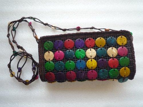 Ariyas Thaishop, Borsa a tracolla donna multi-coloured - bunt klein
