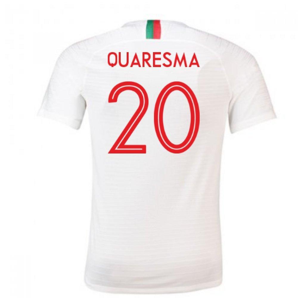 835bf6c1ce 2018-2019 Portugal Away Nike Football Soccer T-Shirt (Ricardo Quaresma 20)   Amazon.co.uk  Sports   Outdoors