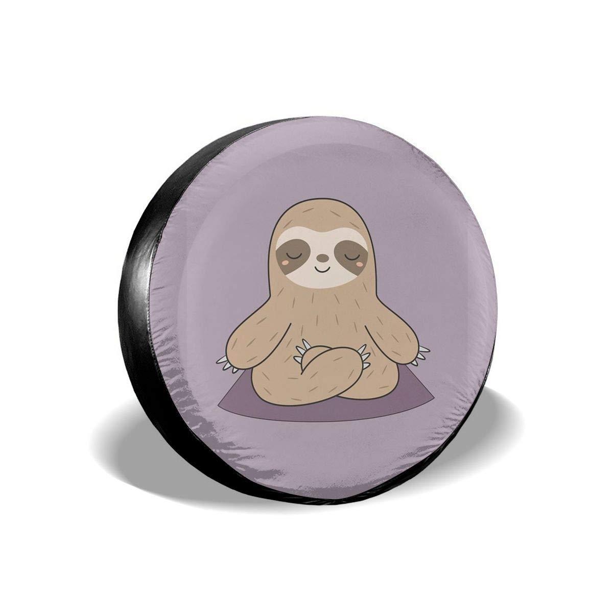 Amazon.com: SanzamKJ Wheel Protectors Sloth Stretching On ...