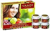 Vaadi Herbals Skin Lightening Fruit Facial Kit, 70g