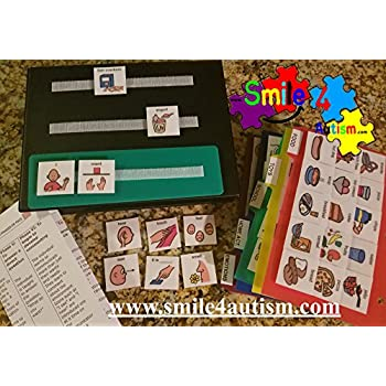 NEW 156 Color Picture Exchange Communication (PECS) Book 4 children with Autism