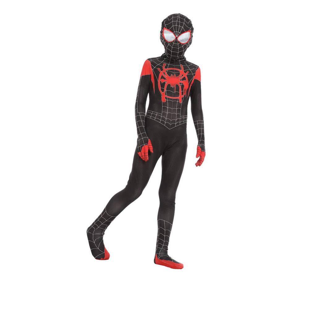 BLOIBFS Traje Negro De Spider-Man, Fancy Dress Party ...