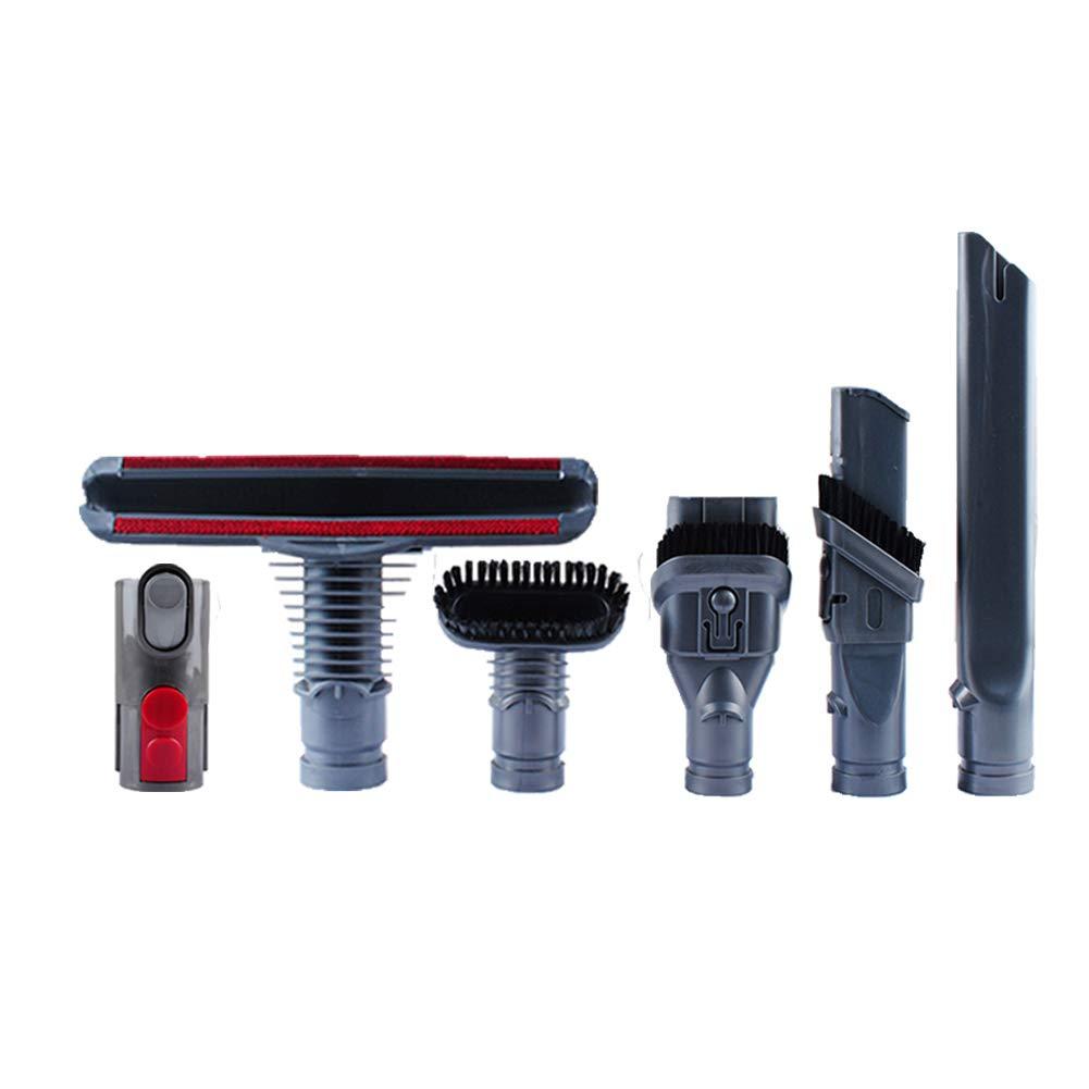 Poweka Compatible V6 Brush Accessories V7 V8 Adapter Converter, If Applicable Dyson V6 V7 V8 DC24 DC34 DC35 DC44 DC58 DC59 DC61 DC62 Animal Motorhead Cord-Free Vacuum Attachments
