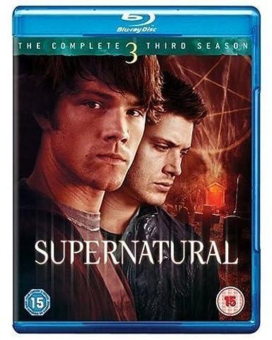Supernatural Complete Series 3 Reino Unido Blu-ray: Amazon.es ...