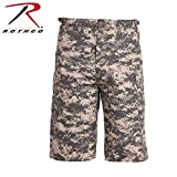 Rothco Longer Style Bdu Shorts, Acu Digital, 3X