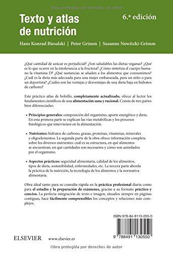 Texto Y Atlas De Nutrición - 6ª Edición: Amazon.es: Hans Konrad Biesalski, Peter Grimm, Susanne Nowitzki-Grimm: Libros