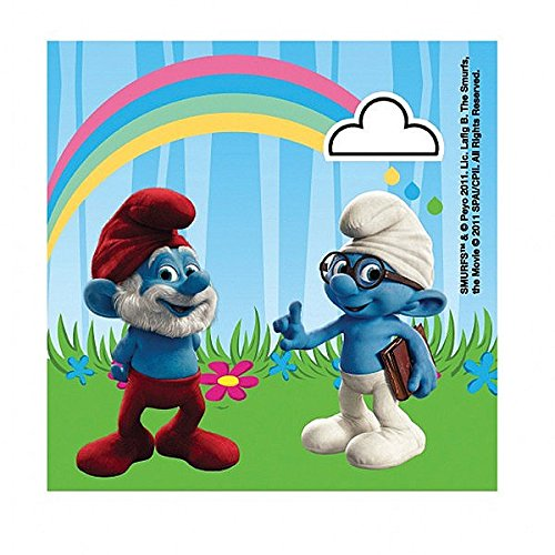 The Smurfs Party Napkins, pack of 20