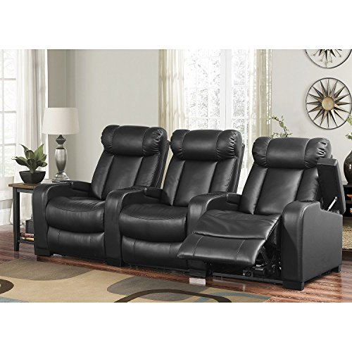 Leather recliners for sale leather recliner chairs online Home theater furniture amazon